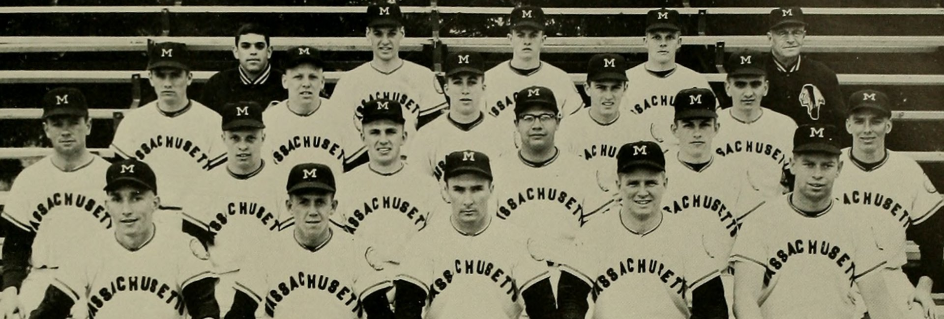Paul Wennik '62 and UMass Amherst baseball team