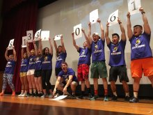 Numbers show the total raised for Baystate Children's Hospital.