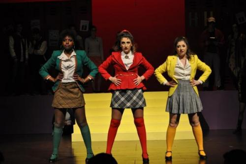 Heathers: The Musical actresses with hands on hips