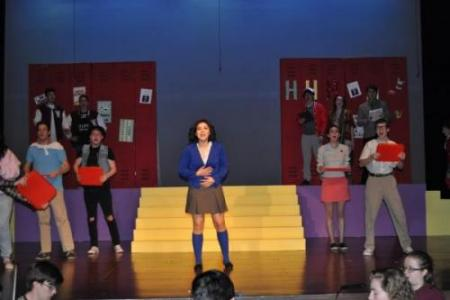 Scene from Heathers: The Musical