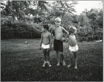 Emmet Gowin, Tracy and Brothers, Danville, Virginia, 1968