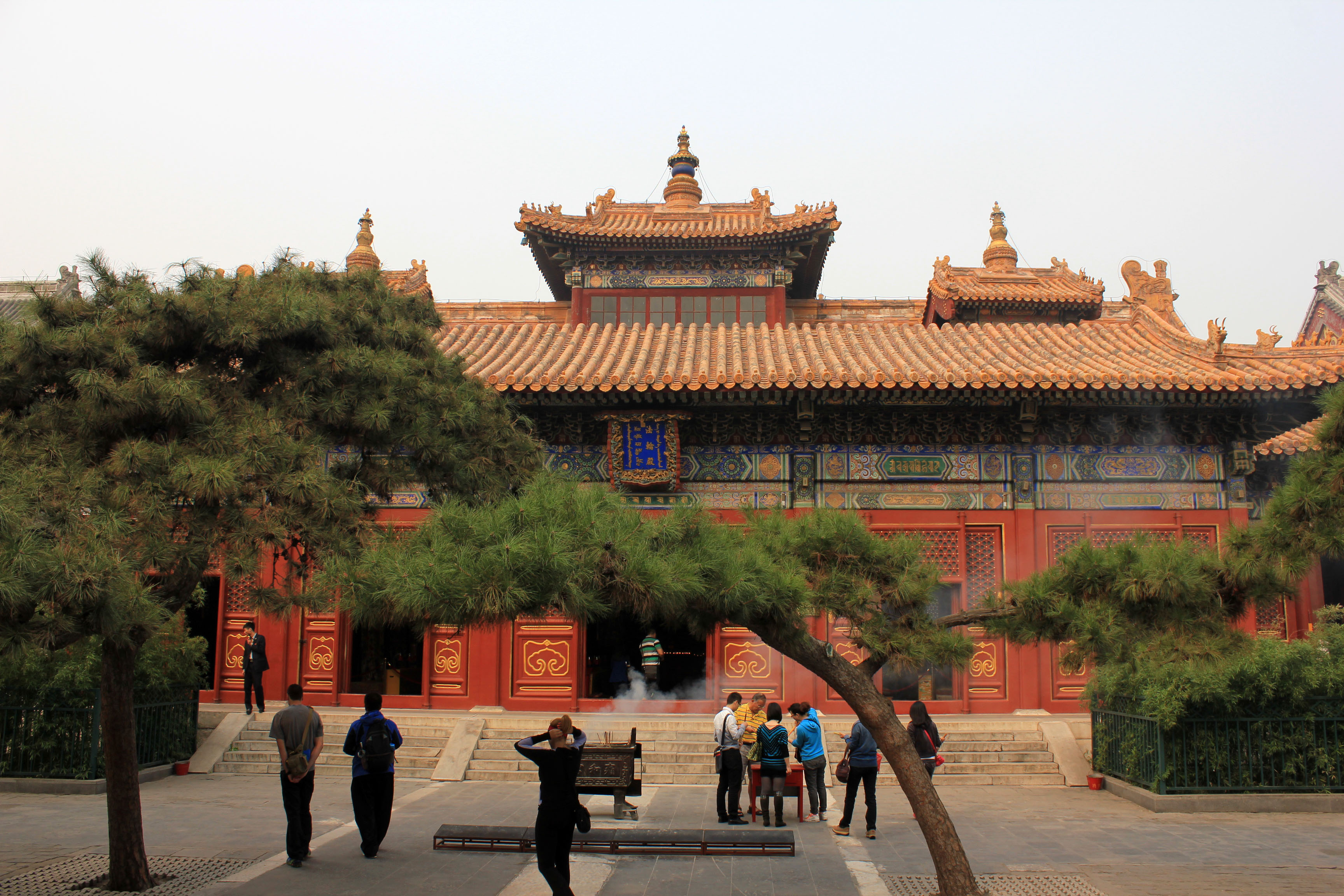 Exterior of the Forbidden City, Beijing, China