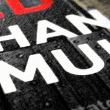 detail from a promotional image with Orhan Pamuk's name