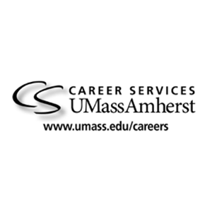 Image of Career Services logo in black and white