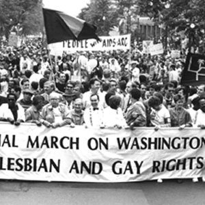 "1987 March on Washington - ""National March on Washington for Lesbian and Gay Rights"""