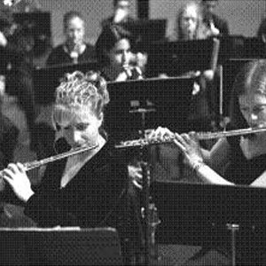 UMass Music and Dance flute players