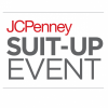 JCPenney Suit Up Event Flyer saying 'JCPenney Suit-Up Event'
