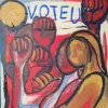 "Painting: ""Voteu"" by Barbara Zecchi"