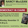 "Public Lecture by Nancy MacLean on ""Democracy in Chains"""
