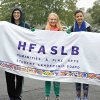 HFA student Leadership Board members before the 2016 Homecoming Parade.