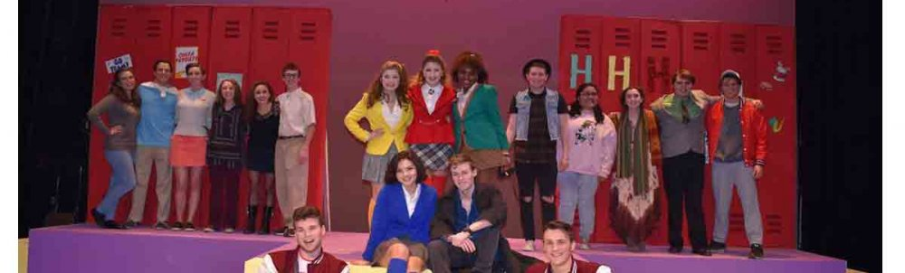 Cast of Heathers: the musical