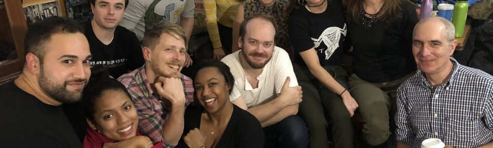 The entire recording team from this January's Legacy Boy sessions
