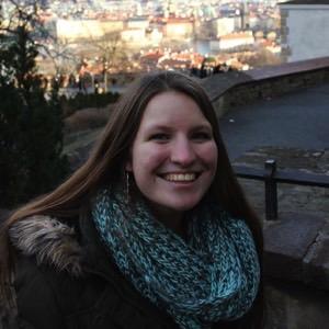 Photo of Amelia Zurcher in the Czech Republic