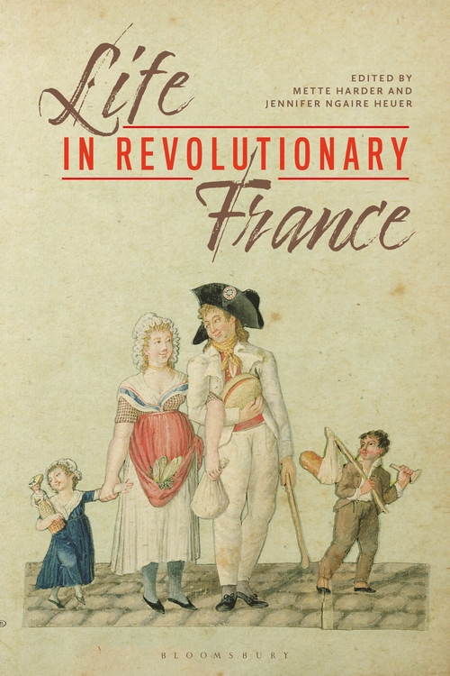 Image of the cover of Revolutionary Lives, ed. Jennifer Ngaire Heuer and Mette Herder