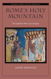 "Book cover of ""Rome's Holy Mountain"""
