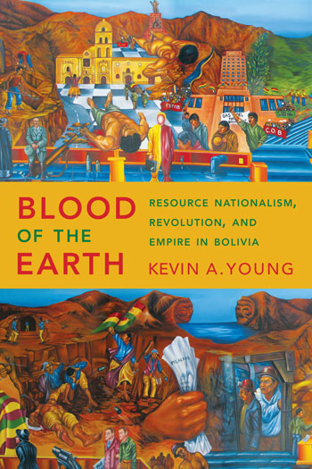 "Book cover of ""Blood of the Earth"""