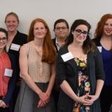 Group Pictures of the Senior Thesis Presenter
