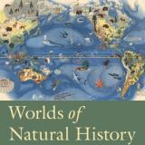 book cover worlds of natural history