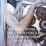The well-being of the labor force in colonial Bombay Book Cover