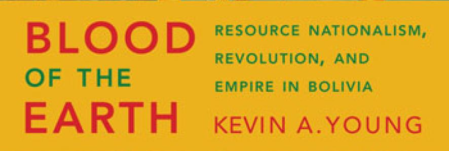 "Book cover of Kevin Young's Book ""Blood of the Earth"""