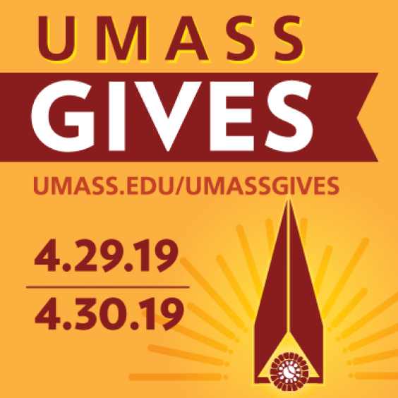 UMass Gives campaign logo