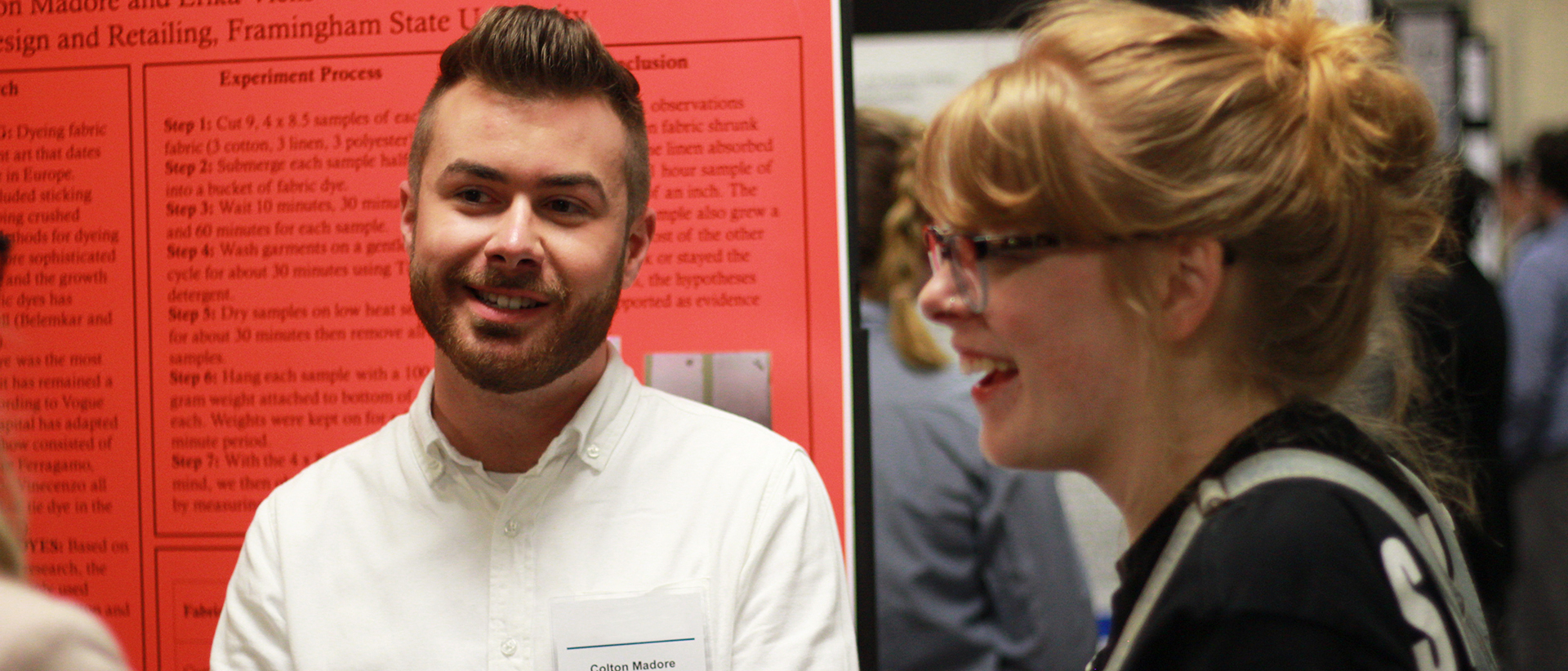 CHC students present at the Undergraduate Research Conference