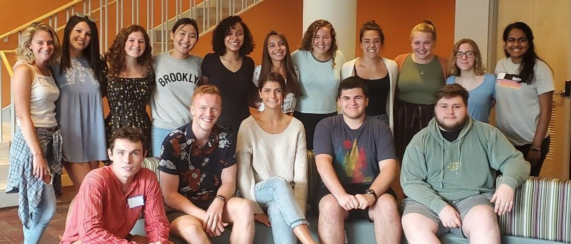 2019-2020 ISP first-year students