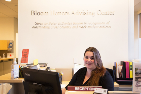 Bloom Advising Center at Commonwealth Honors College