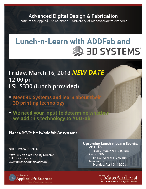 addfab-lunch-n-learn-3dsystems png : Institute for Applied Life