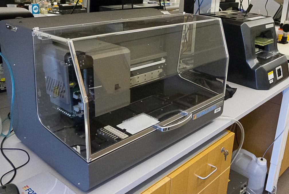 Formulatrix Robotics System for Crystallization