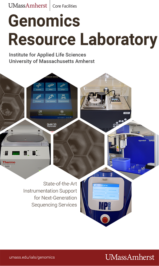 PDF version of Genomics Resource Laboratory brochure