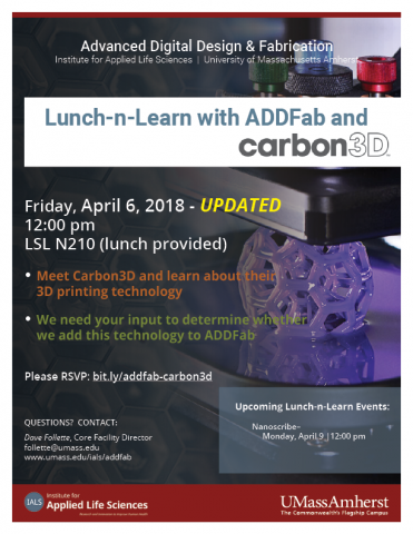 ADDFab Lunch-n-Learn with Carbon3D