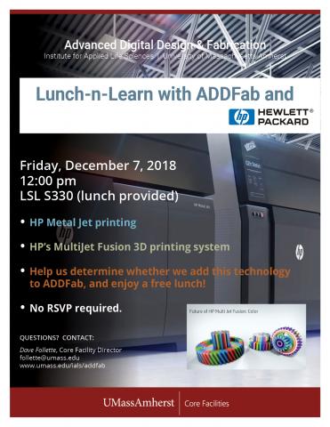 ADDFab Lunch-n-Learn with HP