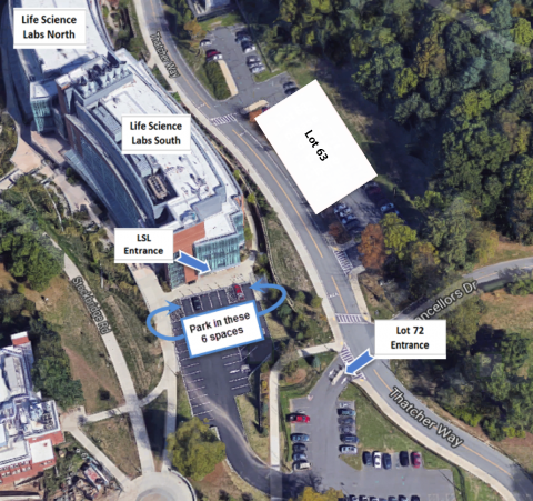 IALS LSL Lot 72 parking map