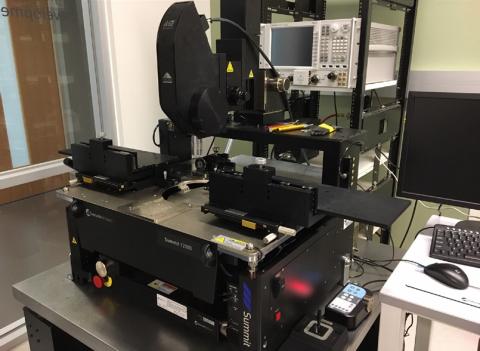 Keysight/Cascade Probe Station for Network Analysis to 1.1THz