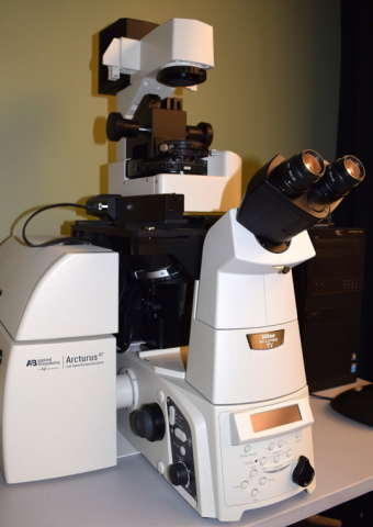 Nikon with Arcturus Laser Capture Micro-Dissection