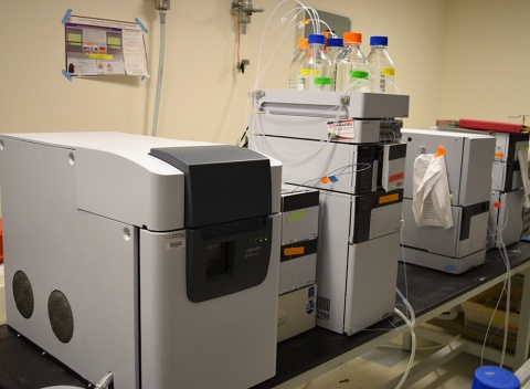 Preparative HPLC with Mass Spectroscopy