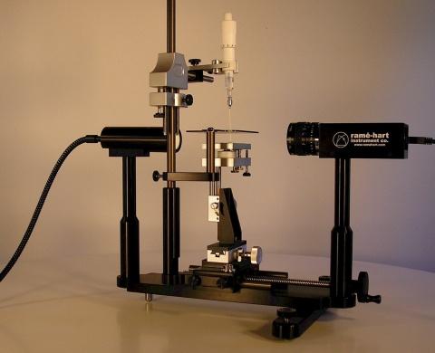 ramé-hart Model 210 Goniometer / Tensiometer