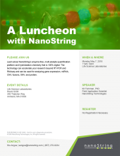 NanoString Lunch and Learn