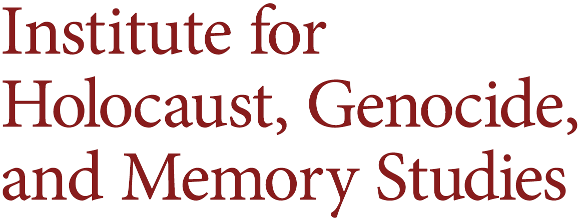 Institute for Holocaust, Genocide, and Memory Studies