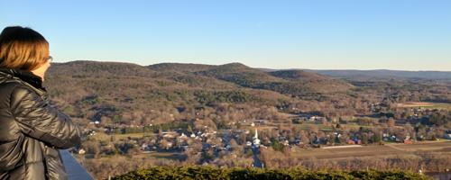 Mount Sugarloaf in Sunderland Massachusetts