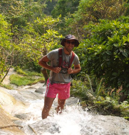 Andrew Gundal in Thailand
