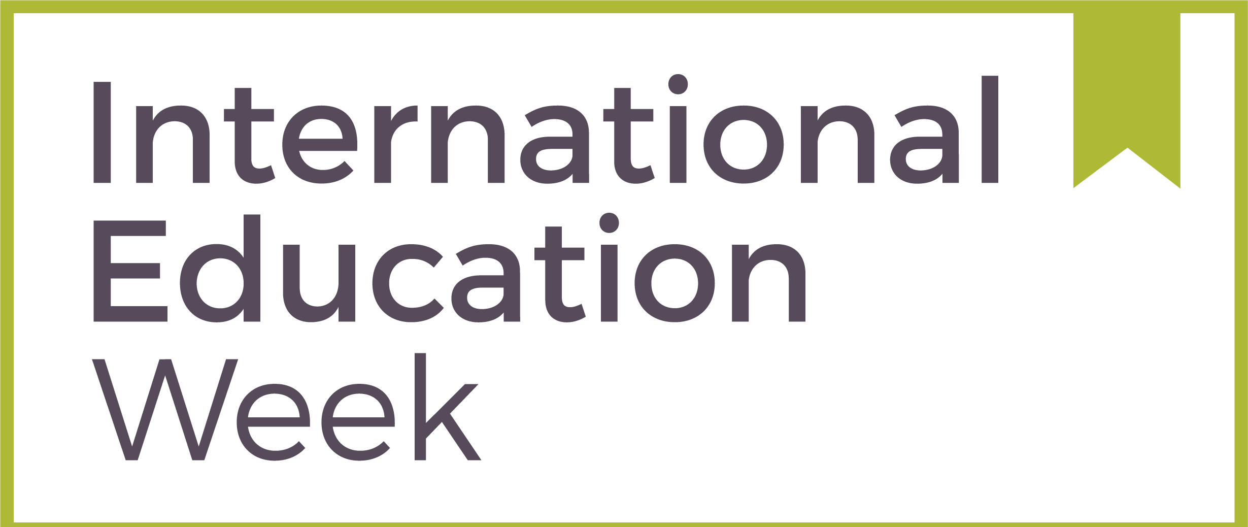 International Education Week 2020 Logo