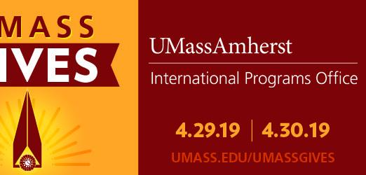UMassGives and International Programs Office Logo