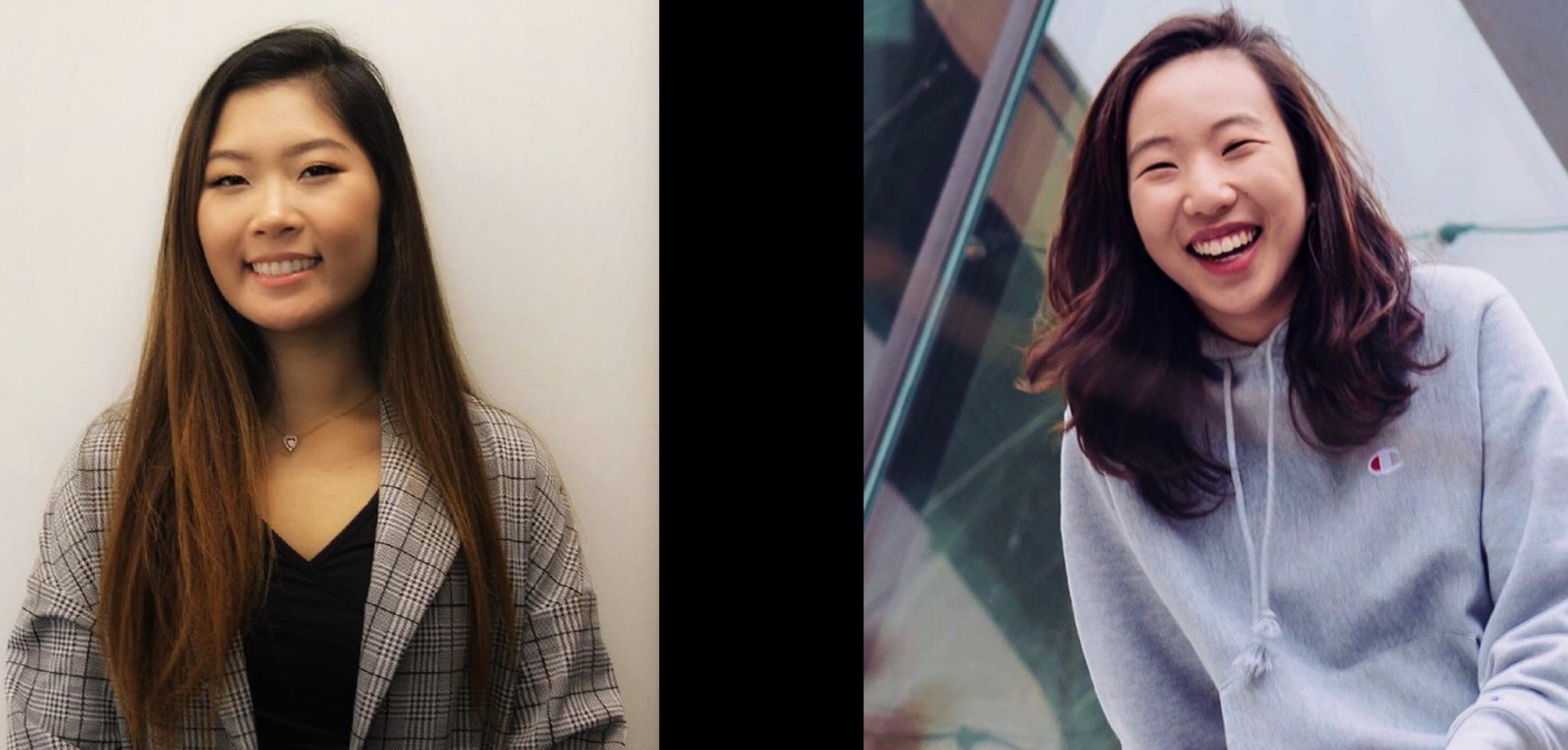 Maggie Zhang '21 and Sarah Yi '22
