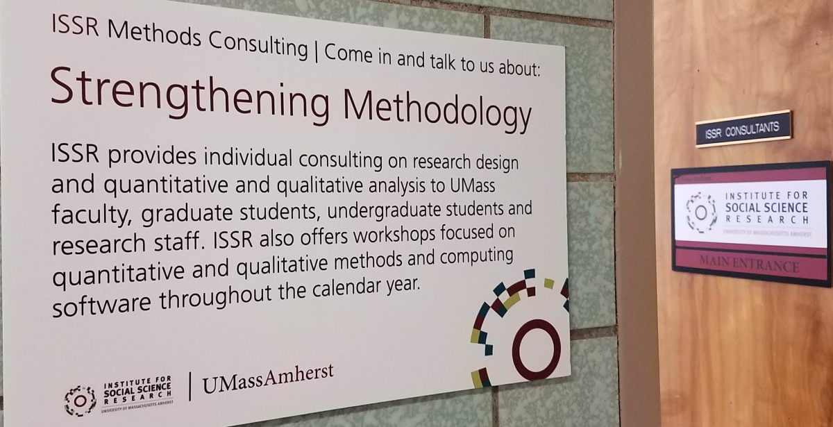 Consultation Institute For Social Science Research Umass Amherst