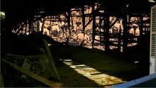 "Image of Sri Lankan workers by Roshini Kempadoo, from series ""Ghosting"""