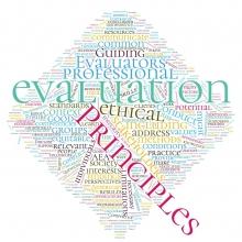 Evaluation Principles Wordcloud