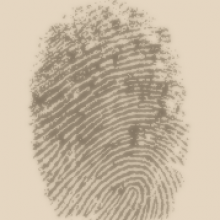 Thumbprint image