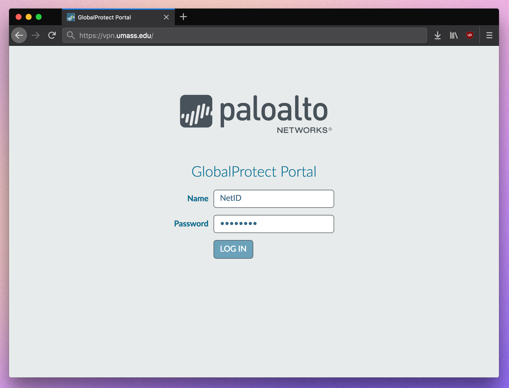 How to Install and Use Global Protect VPN Client | UMass Amherst